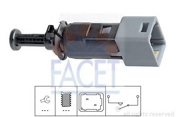 Выключатель фонаря сигнала торможения FACET арт. 71150