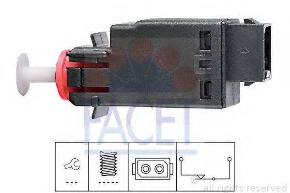 Выключатель фонаря сигнала торможения FACET арт. 71058