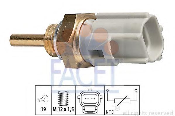 Датчик, температура охлаждающей жидкости FACET арт. 73323