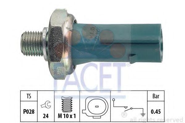 Датчик давления масла FACET арт. 70174