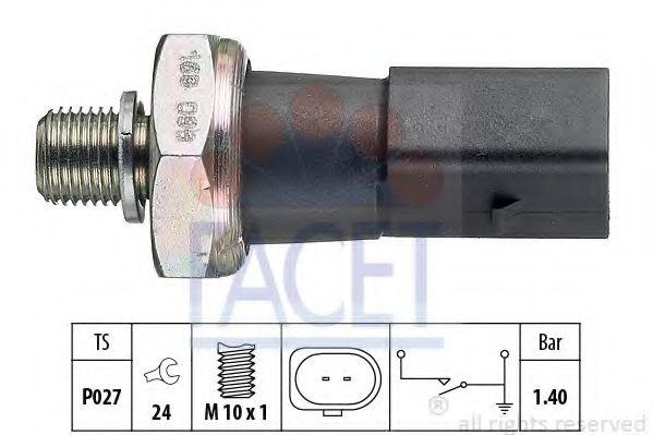 Датчик давления масла FACET арт. 70168
