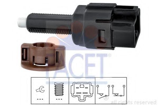 Выключатель фонаря сигнала торможения FACET арт. 71261