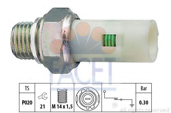 Датчик давления масла FACET арт. 70076