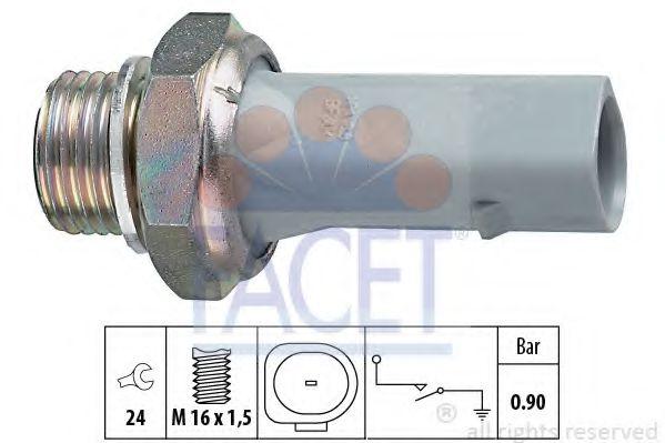 Датчик давления масла FACET арт. 70150