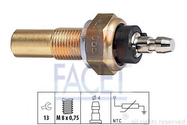 Датчик, температура охлаждающей жидкости FACET арт. 73068