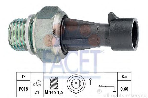 Датчик давления масла FACET арт. 70129