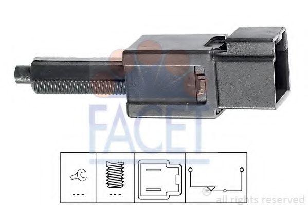Выключатель фонаря сигнала торможения FACET арт. 71165