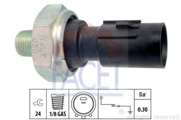 Датчик давления масла FACET арт. 70195