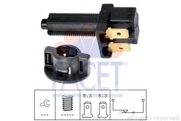 Выключатель фонаря сигнала торможения FACET арт. 71041