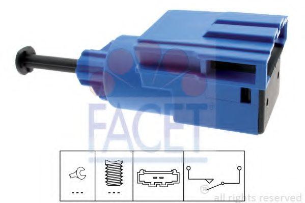 Выключатель, привод сцепления (Tempomat)