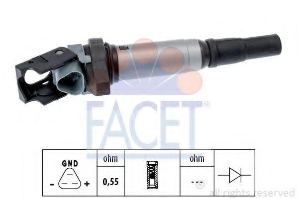 Катушка зажигания FACET арт. 96507