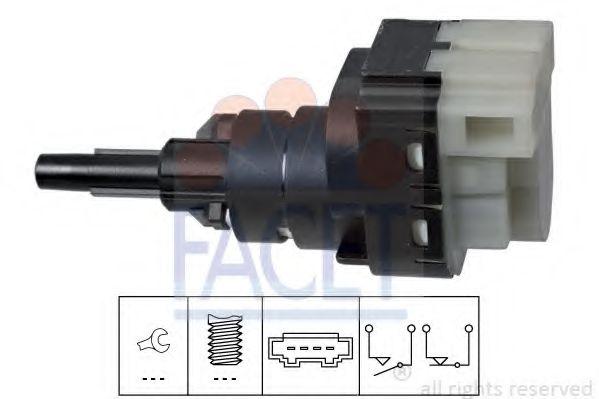 Выключатель фонаря сигнала торможения FACET арт. 71229