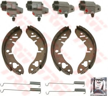 Комплект тормозных колодок TRW арт. BK1851