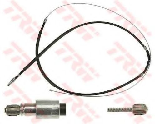 Трос, стояночная тормозная система TRW арт. GCH1606