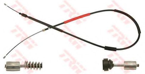 Трос, стояночная тормозная система TRW арт. GCH1633