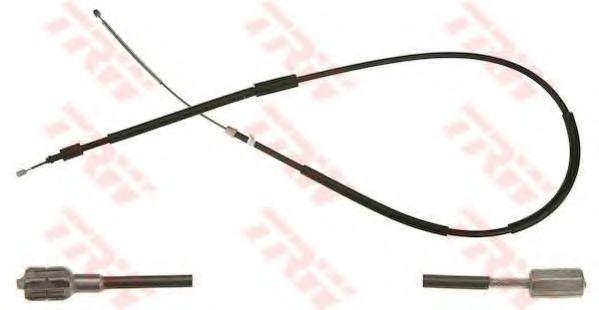Трос, стояночная тормозная система TRW арт. GCH1655