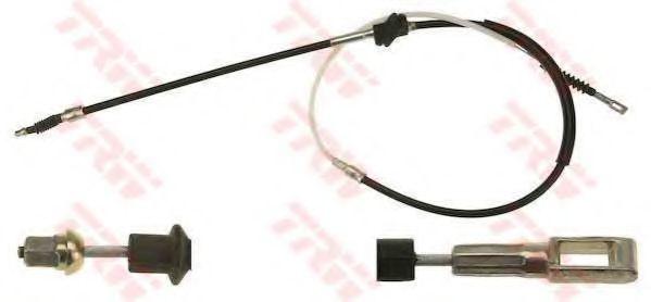 Трос, стояночная тормозная система TRW арт. GCH1658