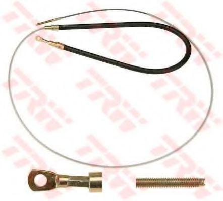 Трос, стояночная тормозная система TRW арт. GCH1677
