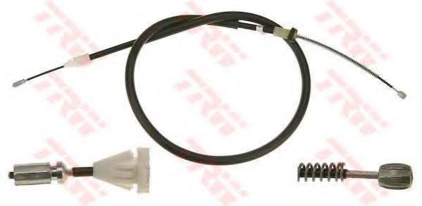Трос, стояночная тормозная система TRW арт. GCH1714