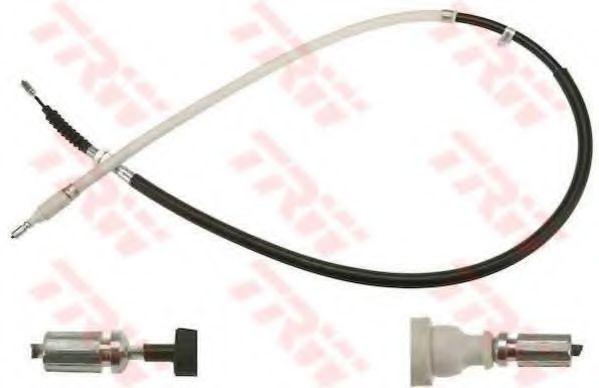 Трос, стояночная тормозная система TRW арт. GCH1715