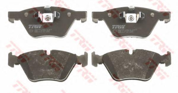 Комплект тормозных колодок, дисковый тормоз TRW арт. GDB1810