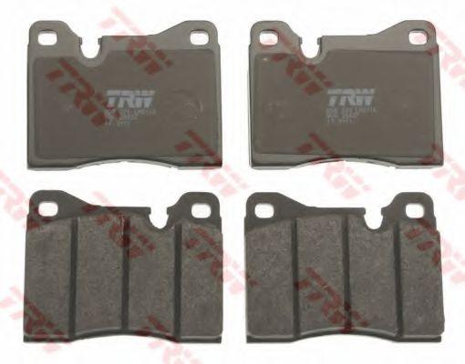 Комплект тормозных колодок, дисковый тормоз TRW арт. GDB270