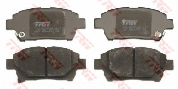 Колодки гальмівні дискові TRW GDB3317