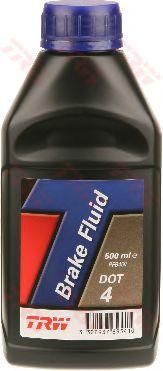 Тормозные жидкости Тормозная жидкость DOT4/0.5L TRW  TRW арт. PFB450
