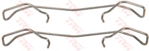 Комплектующие, колодки дискового тормоза TRW арт. PFK533
