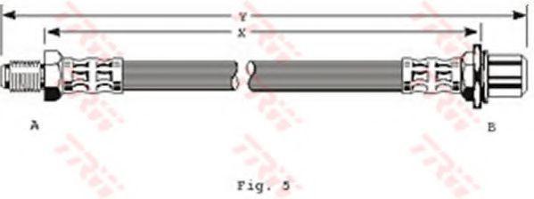 Тормозной шланг TRW арт. PHB109