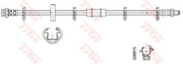 Тормозной шланг TRW арт. PHB183