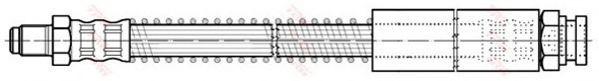 Тормозной шланг TRW арт. PHB185