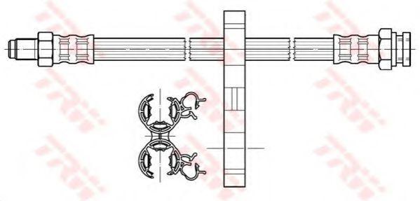 Тормозной шланг TRW арт.