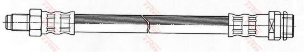 Тормозной шланг TRW арт. PHB447