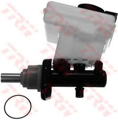 Главный тормозной цилиндр TRW арт. PMN222
