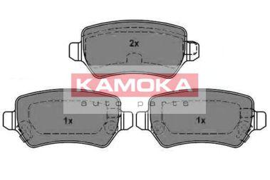 Комплект тормозных колодок, дисковый тормоз KAMOKA арт.
