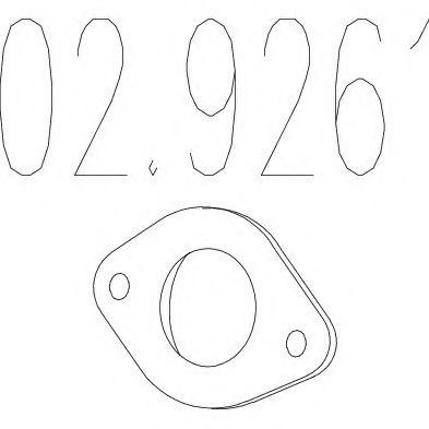 Прокладка, труба выхлопного газа MTS арт. 029261