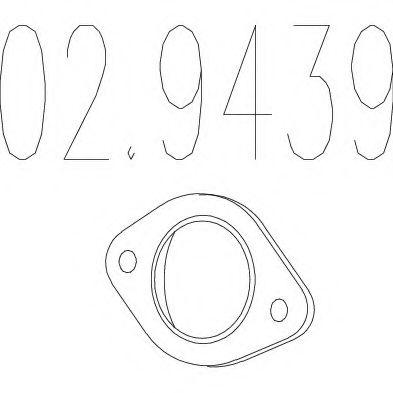 Прокладка, труба выхлопного газа MTS арт. 029439