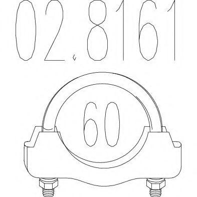 Соединительные элементы, система выпуска MTS арт. 028161