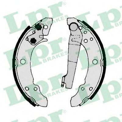 Комплект тормозных колодок LPR арт. 00140