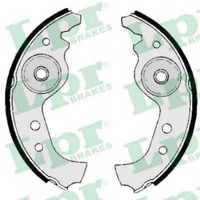 Комплект тормозных колодок LPR арт. 00890