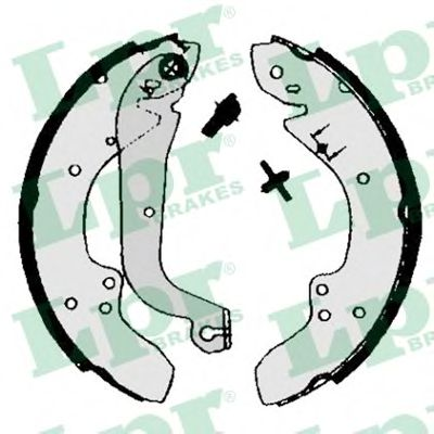 Комплект тормозных колодок LPR арт. 00930