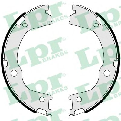 Комплект тормозных колодок, стояночная тормозная система LPR арт. 01047