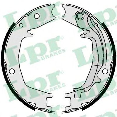 Комплект тормозных колодок, стояночная тормозная система LPR арт.
