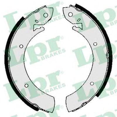 Комплект тормозных колодок LPR арт. 01150