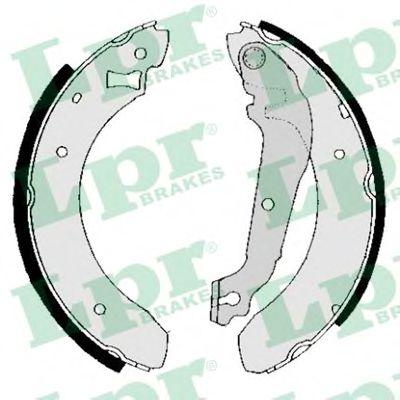 Комплект тормозных колодок LPR арт. 01380B