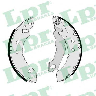 Комплект тормозных колодок LPR арт. 01390