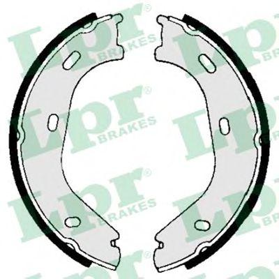 Комплект тормозных колодок, стояночная тормозная система LPR арт. 01840