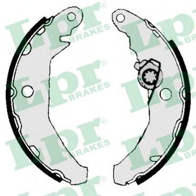 Комплект тормозных колодок LPR арт. 04340