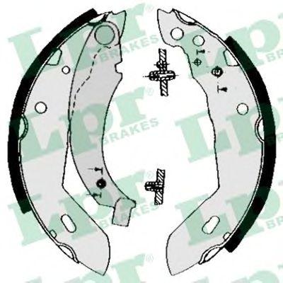 Комплект тормозных колодок LPR арт. 04480